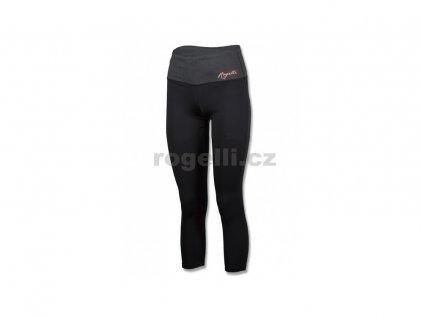 Dámské fitness kalhoty Rogelli MARZIA, černé (Varianta XXL)