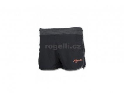 Dámské fitness kraťasy Rogelli MAGDA, černé (Varianta XXL)