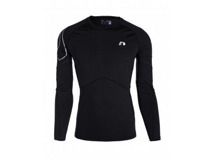 ICONIC pánské zimní běžecké kompresní triko NEWLINE 11165-060 (Velikost XXL)