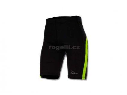 Kraťasy Rogelli DIXON, černo-reflexní žluté (Varianta XXL)