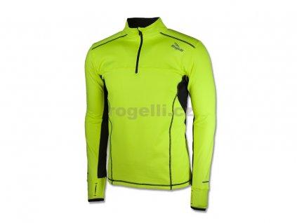 Sportovní mikina Rogelli PARSONS, refl. žlutá (Varianta XXL)