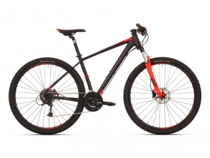 Horské kolo Superior XC 859 Matte Black/Dark Grey/Neon Red mod.018