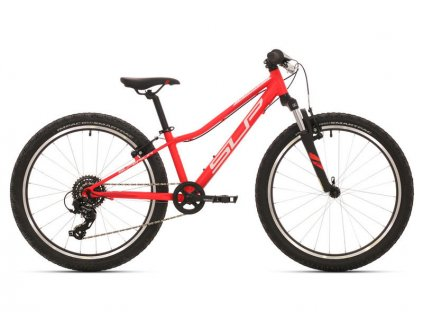 Dětské kolo Superior Racer XC 24 matte neon red/white/dark red 2019