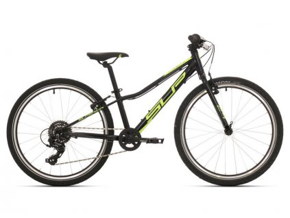 Dětské kolo Superior Racer RX 24 gloss black/neon yellow/dark grey 2019