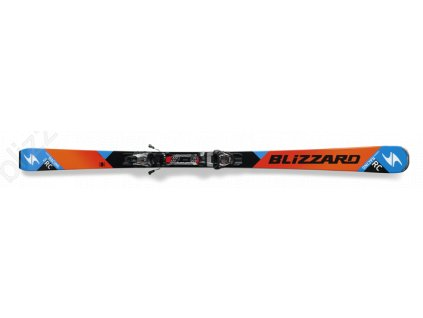 SET SJEZDOVÉ LYŽE BLIZZARD RC CA, ORANGE/BLACK/BLUE + VÁZÁNÍ TP10 DEMO