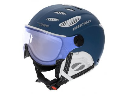Lyžařská helma Mango Cusna VIP, modrá mat