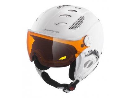 Lyžařská helma Mango Cusna Pro, bílá mat