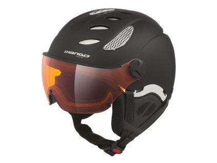 Lyžařská helma Mango Cusna Pro, černá mat