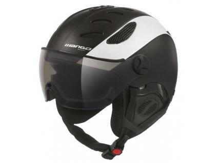 Lyžařská helma Mango Cusna Pro, černá/bílá mat