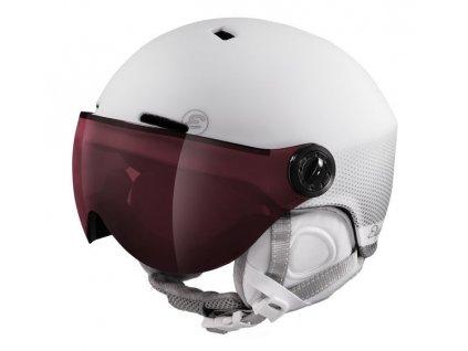 Lyžařská helma Etape Cortina Pro, bílá mat ST