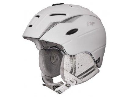 Dámská lyžařská helma Grace, bílá mat