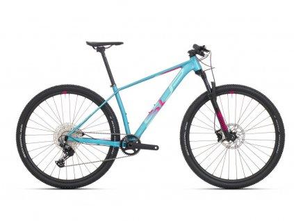 Pánské horské kolo Superior XP 909 Matte Turquoise/Pink Red 2021
