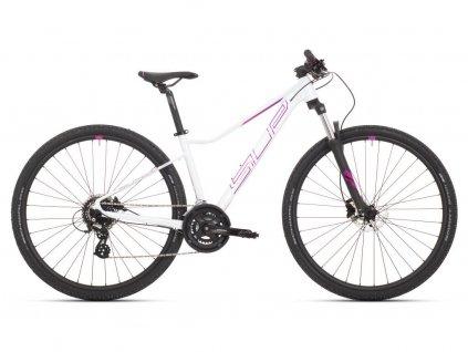 Dámské horské kolo Superior XC 819 W Gloss White/Violet/Purple 2021