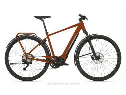 Krosové elektrokolo Superior eXR 6030 Touring Matte Copper/Chrome Silver 2021