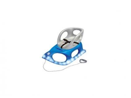 Dětské sáňky KHW Crazy Bob Comfort se světelným modulem