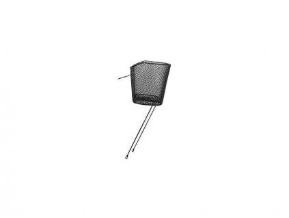 košík P na řidítka oválný černý