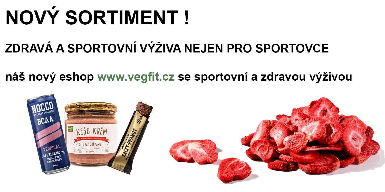 Nový sortiment vegfit.cz