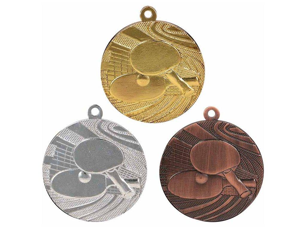 sportovni pohary 4j medaile MMC1840 stolni tenis sada
