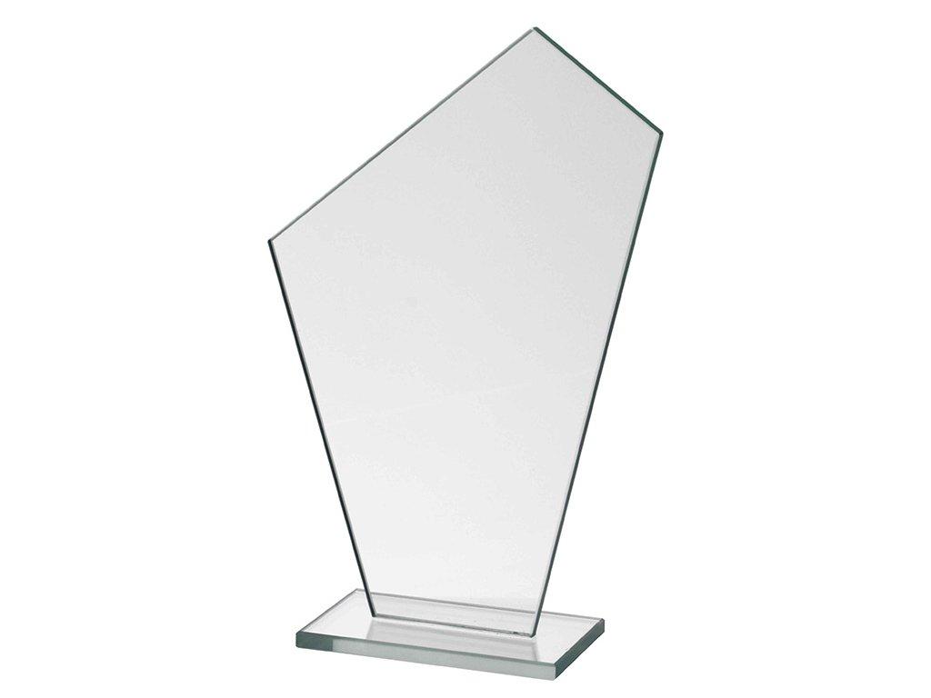 sklenena plaketa gravirovani pohary 4j M64