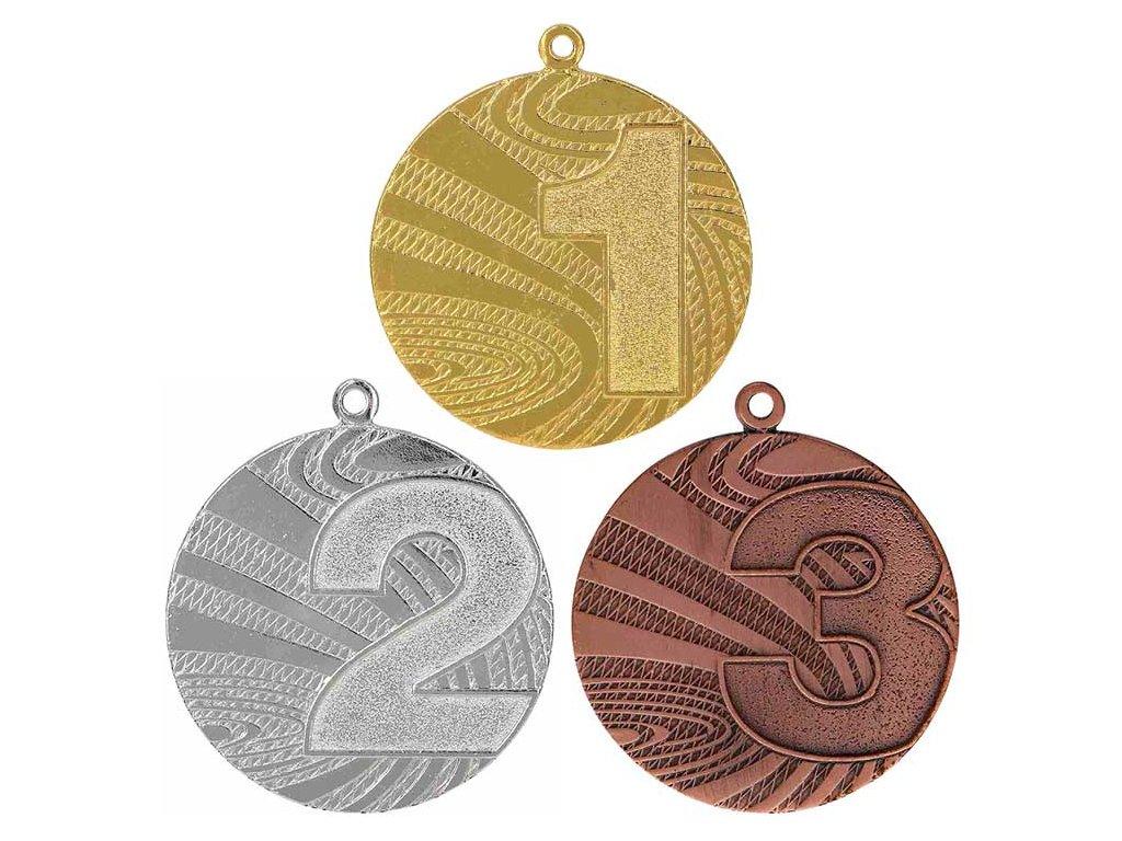 sportovni pohary 4j medaile MMC6040 sada