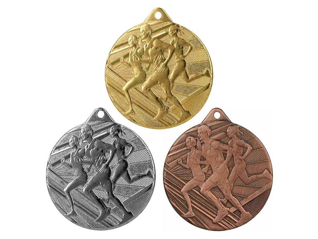 sportovni pohary 4j medaile ME004 beh sada