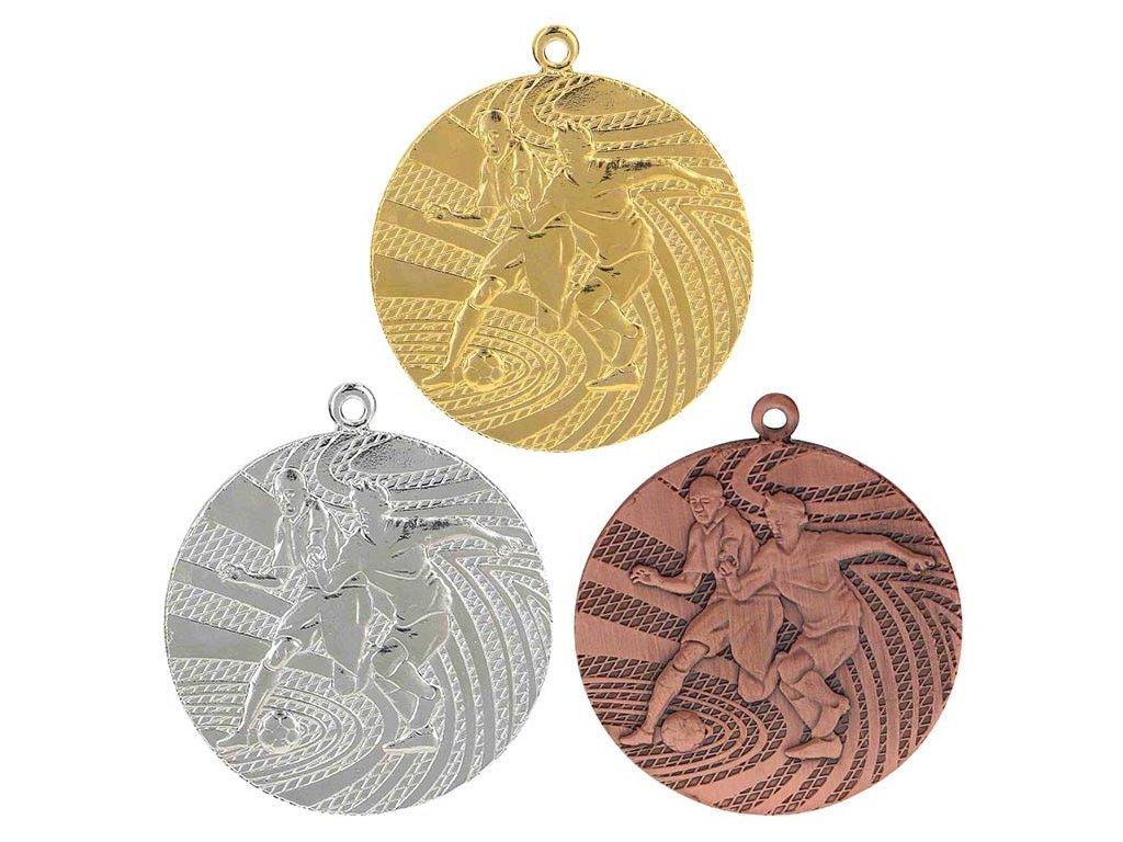 sportovni pohary 4j medaile MMC1340 fotbalisti sada