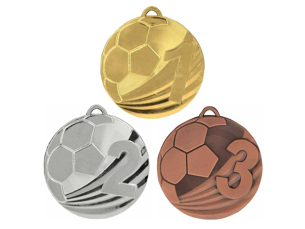 sportovni pohary 4j medaile md2450 sada