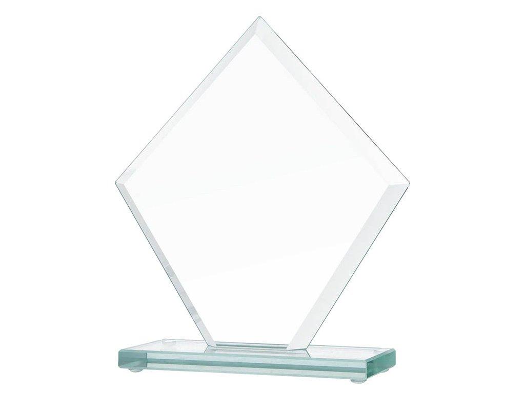 sklenena plaketa gravirovani pohary 4j GS109 1