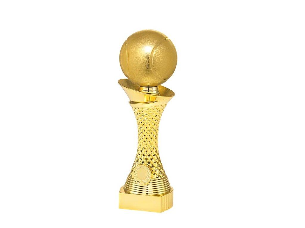 sportovni pohary 4j soska zlata tenisak
