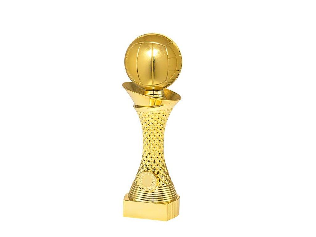 sportovni pohary 4j soska zlata volejbal