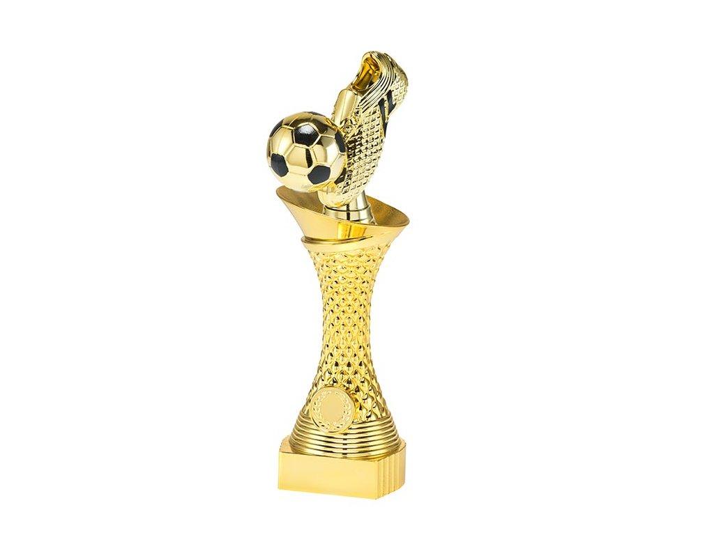 sportovni pohary 4j soska zlata fotbal kopacka