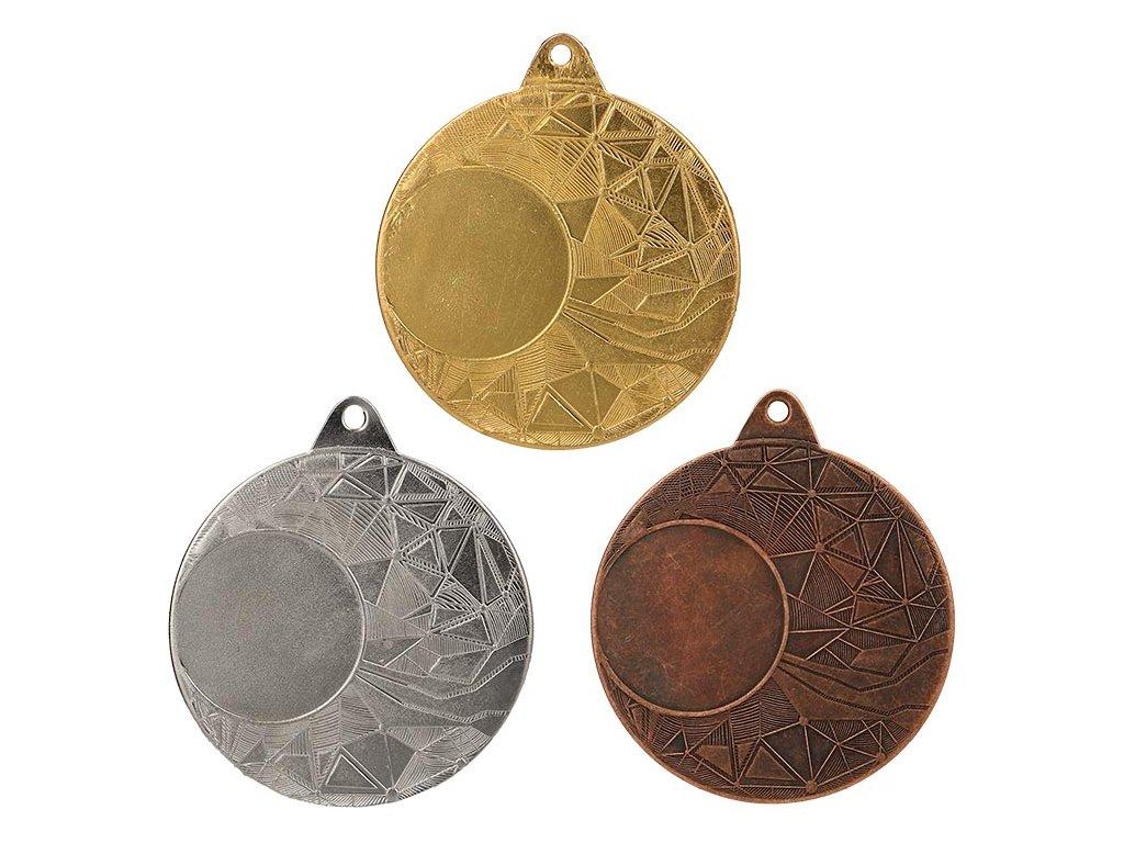 sportovni pohary 4j medaile ekonomy ME0150 sada