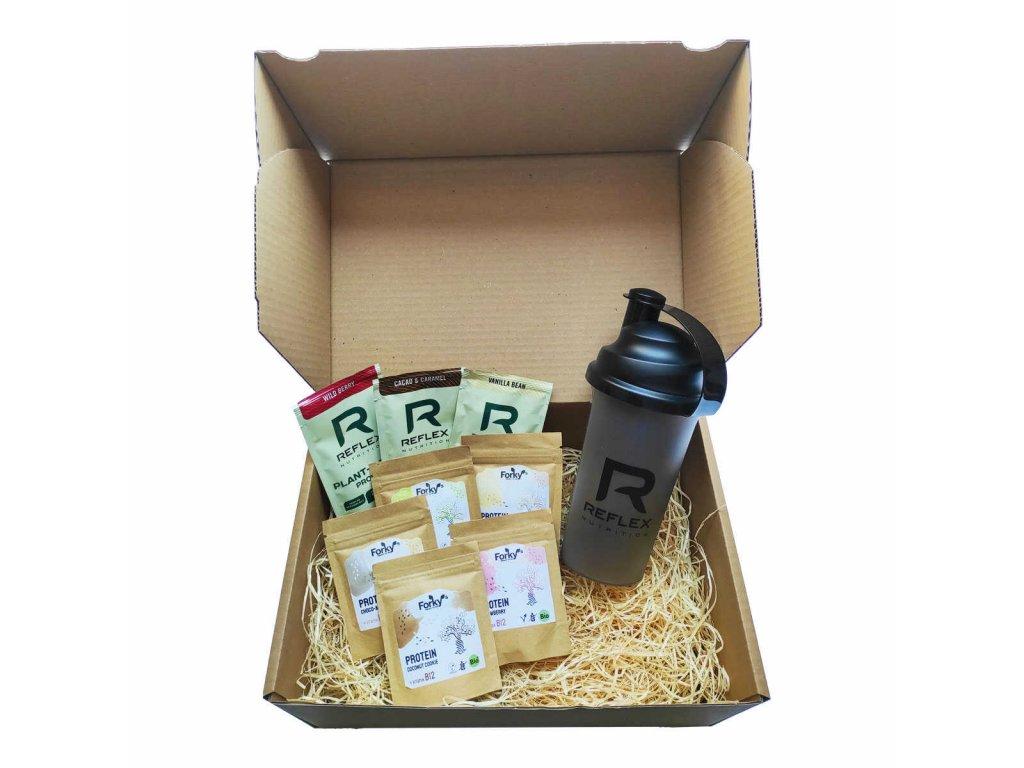 dárkový balíček 10 (balíček pro svalovce) vegfit