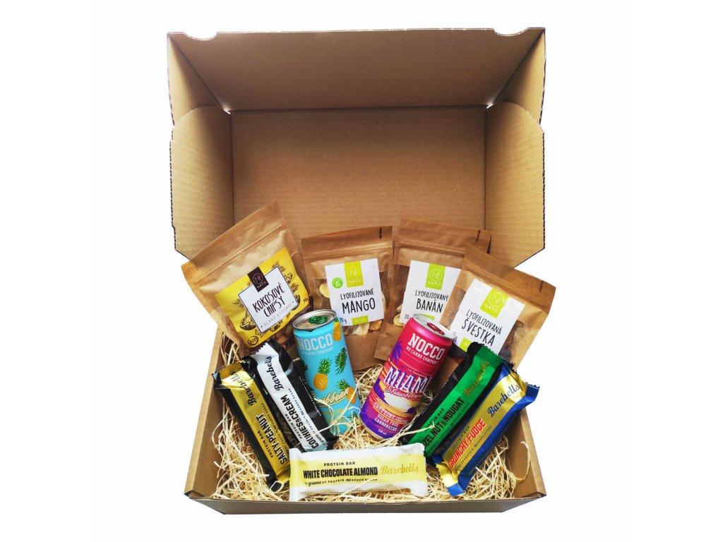 dárkový balíček 5 (na výlety) vegfit
