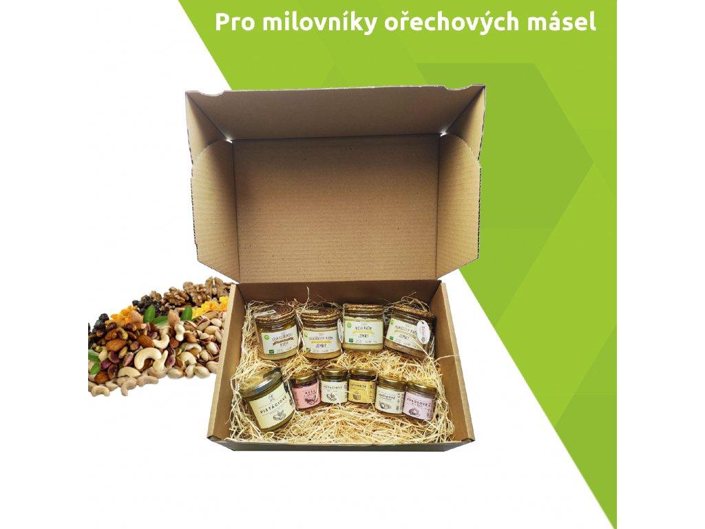 balicek pro milovniky ořechových másel vegfit
