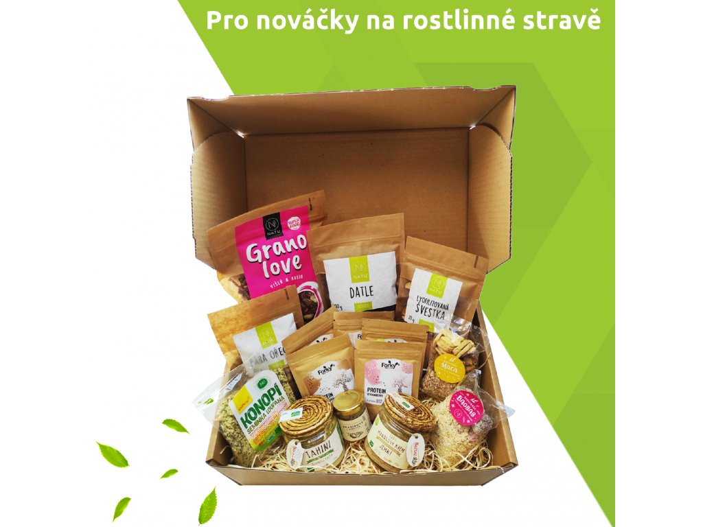 balicek pro novacky na rostlinné sravě vegfit