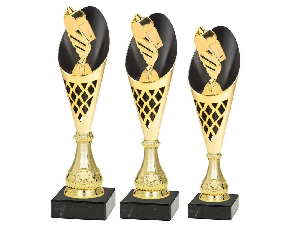 sportovni pohar trofej CP301 fotbal rozhodci sada