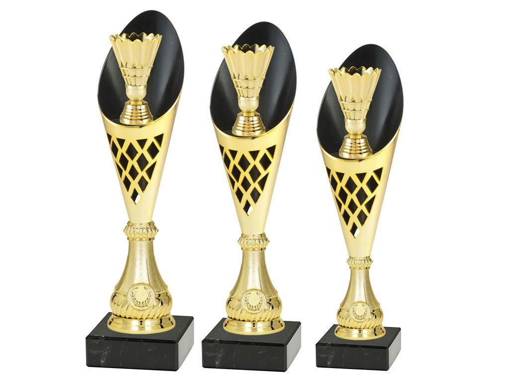 sportovni pohar trofej CP301 badminton mensi sada