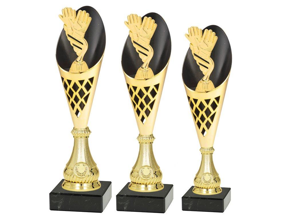 sportovni pohar trofej CP301 fotbal brankar sada
