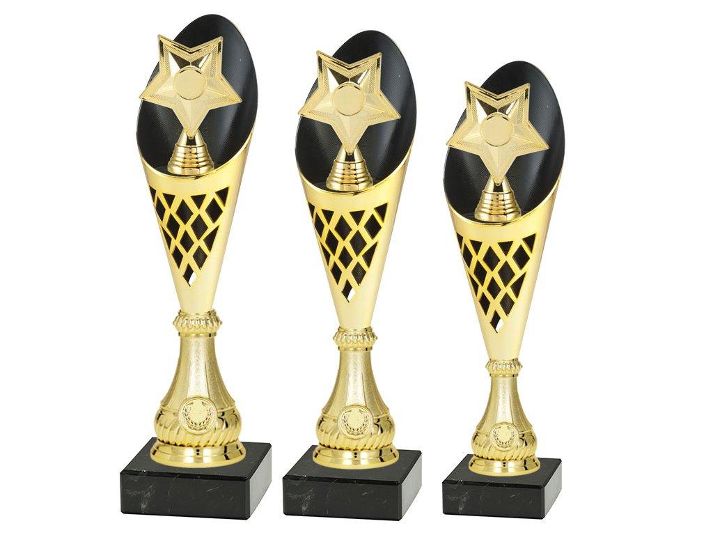 Sportovní pohár  - HVĚZDA DĚTSKÁ - CP310/P531 (Výška poháru Pohár C -HVĚZDA DĚTSKÁ- 36,5cm)