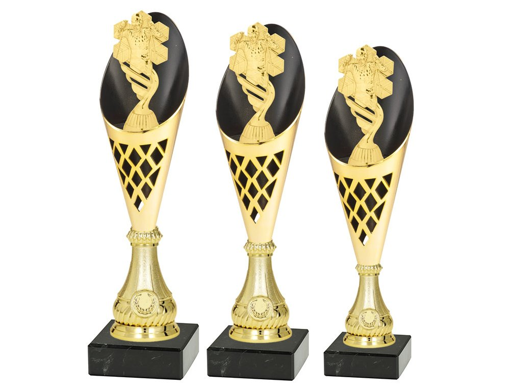 Sportovní pohár  - LYŽE - BĚŽKY - CP310/P425 (Výška poháru Pohár C -LYŽE-BĚŽKY- 36,5cm)