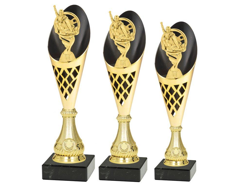 sportovni pohar trofej CP301 motokáry sada