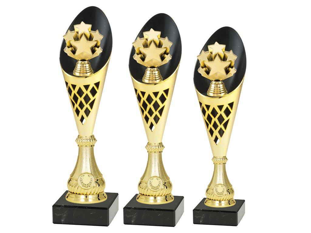 sportovni pohar trofej CP301 lyze zima hvezdy sada