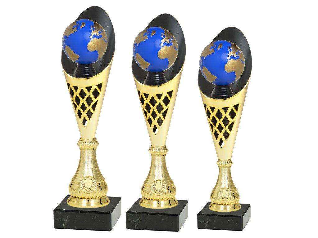 sportovni pohar trofej CP301 P501 multi mic zeměkoule sada