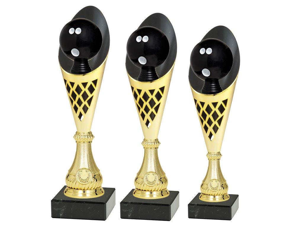 sportovni pohar trofej CP301 P504 multi mic bowling sada