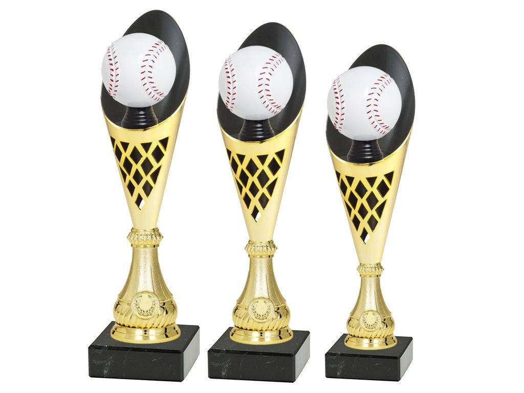 sportovni pohar trofej CP301 P507 multi mic baseball softball sada