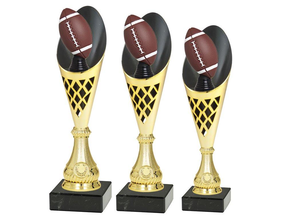 sportovni pohar trofej CP301 americky fotbal mic multi sada