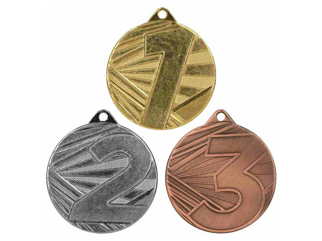 sportovni pohary 4j medaile ME005 sada