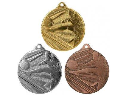 sportovni pohary 4j medaile ME001 fotbal sada