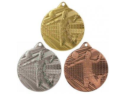 sportovni pohary 4j medaile ME008 volejbal sada